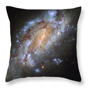 Hubbles Lonely Firework Display Throw Pillow