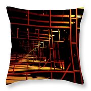 Hurdles Throw Pillow