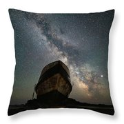 Hurkett Shipwrecks On A Late June Night Throw Pillow