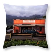 Hygienic Store, Kahalu'u Throw Pillow