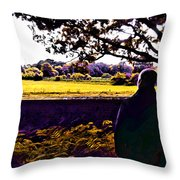 I Can Feel It Coming In The Air Throw Pillow