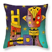 I Come In Peace - Heavy Metal Throw Pillow by Sotuland Art