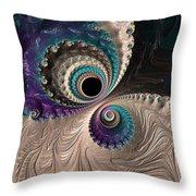 I Have My Eye On You. Throw Pillow