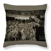 I Say This Now Throw Pillow
