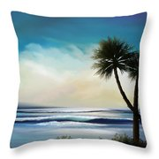 I Sea Throw Pillow by Mark Taylor