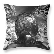 Ice Angel Throw Pillow