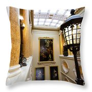 Ickworth House, Image 39 Throw Pillow