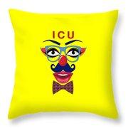 ICU Throw Pillow