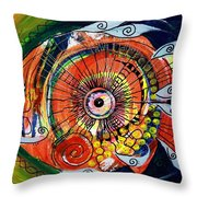 Idiosyncratic Throw Pillow