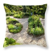 If Gulliver Had A Herb Garden Throw Pillow