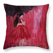 If It Rains Will You Be There For Me Throw Pillow