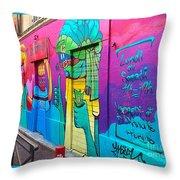 If You Love Graffiti  Throw Pillow