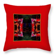 imagery in healing in a Buddhism way Throw Pillow