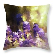 Impressions Of Muscari Throw Pillow