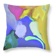 Impromptu Throw Pillow by Gina Harrison