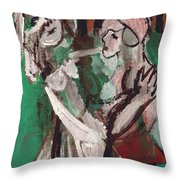 In A Forest Throw Pillow