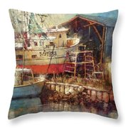 In For Repairs Throw Pillow