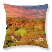 In Our English Towns Throw Pillow