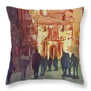 In Salamanca Throw Pillow