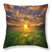In The Arms Of An Angel Throw Pillow