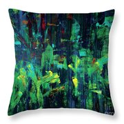 In The City Cle Throw Pillow