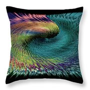 In The Eye Of The Storm II Altered  Throw Pillow