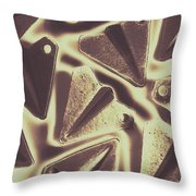 In The Fold Throw Pillow