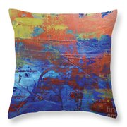 In The Horizon L Throw Pillow