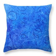 In The Square Throw Pillow