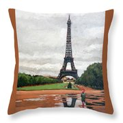 In The Summer When It Sizzles? Throw Pillow