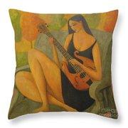 Incidental Music Throw Pillow