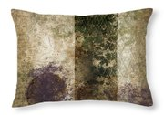 Industrial Letter J Throw Pillow