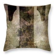 Industrial Letter T Throw Pillow