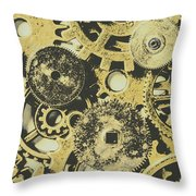 Industrialised Throw Pillow