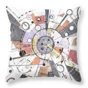 Information Superhighway Throw Pillow