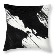 Ink Wave 2- Art By Linda Woods Throw Pillow