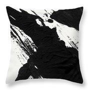 Ink Wave 3- Art By Linda Woods Throw Pillow