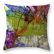 Inner Faith Throw Pillow by Kate Word