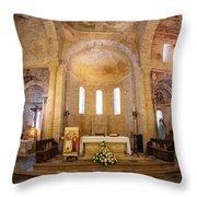 Inside The Basilica Throw Pillow by Tom Singleton