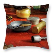 Instruments Of Healing Throw Pillow