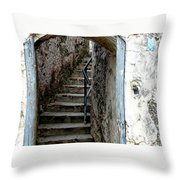 Into The Fort Throw Pillow