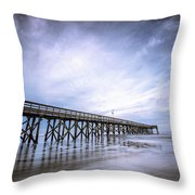 Iop In The Morning Throw Pillow
