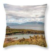 Irish Coastline Throw Pillow