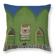 Irish Coffee Throw Pillow