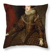 Isabella  Queen Of Spain  Throw Pillow