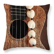 Island Music Throw Pillow