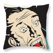 It Is The Artist Throw Pillow