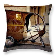 Italian Delivery Throw Pillow