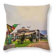 Itchimbia Park Throw Pillow