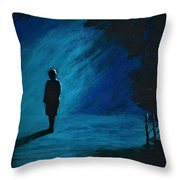 It's Just A Matter Of Time Throw Pillow